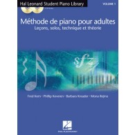 HAL LEONARD METHODE DE PIANO POUR ADULTES VOL 1