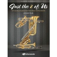 NIJS J. JUST THE 2 OF US TROMBONES OU BARYTONS OU  EUPHONIUMS