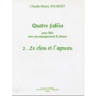 JOUBERT C.H. FABLE N°2 LE CHOU ET L'AGNEAU ALTO