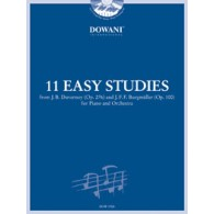 11 EASY STUDIES PIANO