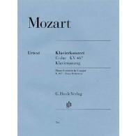MOZART W.A. CONCERTO N°21 K 467  2 PIANOS 4 MAINS