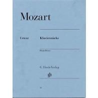 MOZART W.A. KLAVIERSTUCKE PIANO
