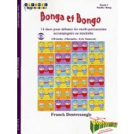 DENTRESANGLE F. BONGA ET BONGO 2 MULTI-PERCUSSIONS
