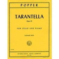 POPPER D. TARANTELLE OP 33 VIOLONCELLE