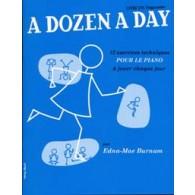 BURNAM E.M. A DOZEN A DAY VOL 1 PIANO