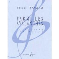 ZAVARO P. PARMI LES AVALANCHES PIANO