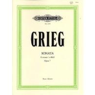 GRIEG E. SONATE OP 7 PIANO