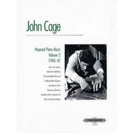 CAGE J. MUSIQUE POUR PIANO PREPARE VOL 2