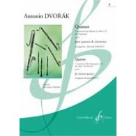 DVORAK A. QUATUOR DIT AMERICAIN OP 96 VOL 3 CLARINETTES