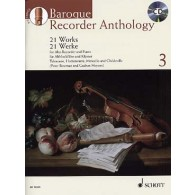 BAROQUE RECORDER ANTHOLOGY VOL 3 FLUTE ALTO