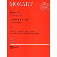MOZART W.A. CONCERTO KV 207 VIOLON