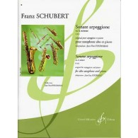 SCHUBERT F. SONATE ARPEGGIONE SAXOPHONE