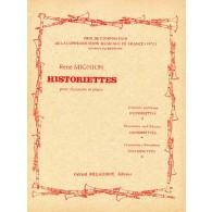 MIGNION R. HISTORIETTES CLARINETTE