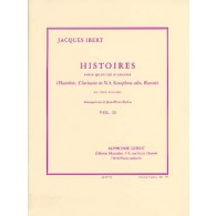 IBERT J. HISTOIRES QUATUOR D'ANCHES VOL 2