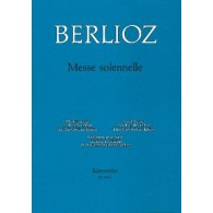 BERLIOZ H. MESSE SOLENNELLE CHANT PIANO