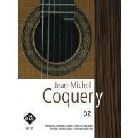 COQUERY J.M. OZ GUITARE RYTHMIQUE, FLUTE A BEC, CLARINETTE, VIOLON ET CONTREBASSE