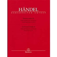 HAENDEL G.F. OEUVRES VOL 2 PIANO