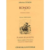 DONJON J. RONDO OP 7 FLUTE