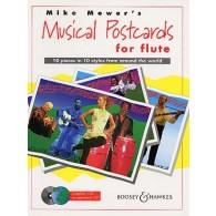 MOWER'S MUSICAL POSTCARDS FLUTE