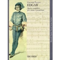 PUCCINI G. EDGAR CHANT PIANO