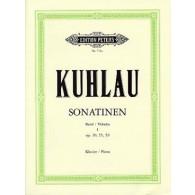 KUHLAU F. SONATINES OP 20 OP 55 OP 59 PIANO