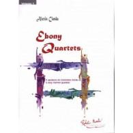 CIESLA A. EBONY QUARTETS CLARINETTES