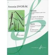 DVORAK A. QUATUOR DIT AMERICAIN OP 96 VOL 1 CLARINETTES