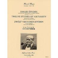MOYSE M. 12 ETUDES DE GRANDE VIRTUOSITE FLUTE