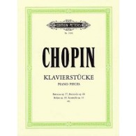 CHOPIN F.  PIANO PIECES