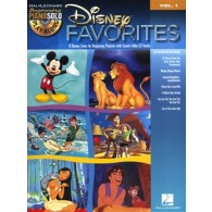 BEGINNING PIANO SOLO VOL 01 DISNEY FAVORITES