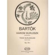 BARTOK B. BURLESQUES OP 8/c PIANO