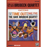 BRUBECK D. QUARTET  TIME OUT TIME EASY PIANO SOLOS 50TH ANNIVERSARY ED.