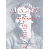 ALBENIZ I. SUITE ESPAGNOLE OPUS 47 GUITARE