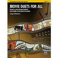 MOVIE DUETS FOR ALL SAXOS ALTO