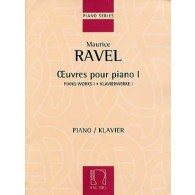 RAVEL M. OEUVRES POUR PIANO VOL 1