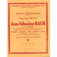 BACH J.S. 22 PIECES CLARINETTE