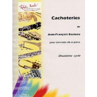 BASTEAU J.F. CACHOTERIES CLARINETTE