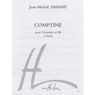 DAMASE J.M. COMPTINE CLARINETTE