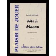 COITEUX F. FETE A MANON CLARINETTE