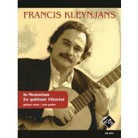KLEYNJANS F. IN MEMORIAM - EN QUITTANT VILLAREAL GUITARE