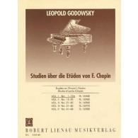 GODOWSKY L. ETUDES D'APRES CHOPIN VOL 1 PIANO