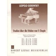 GODOWSKY L. ETUDES D'APRES CHOPIN VOL 2 PIANO