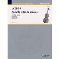 WEBER C.M. ANDANTE E RONDO UNGARESE ALTO