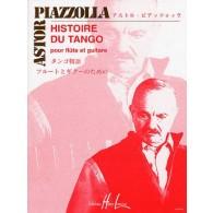 PIAZZOLLA A. HISTOIRE DU TANGO FLUTE ET GUITARE