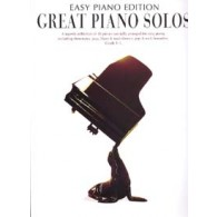 GREAT PIANO SOLOS EASY PIANO BLACK EDITION