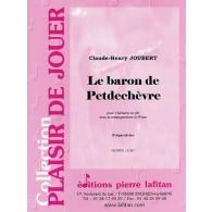 JOUBERT C.H. LE BARON DE PETDECHEVRE CLARINETTE