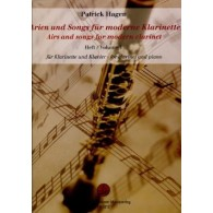 HAGEN P. AIRS AND SONGS FOR MODERN CLARINET VOL 1