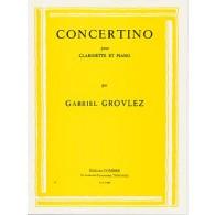 GROVLEZ G. CONCERTINO CLARINETTE