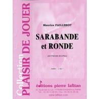 FAILLENOT M. SARABANDE ET RONDE CLARINETTE