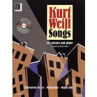 WEILL K. SONGS CLARINETTE